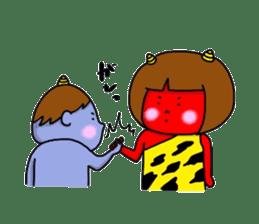 Oni Kids sticker #135178