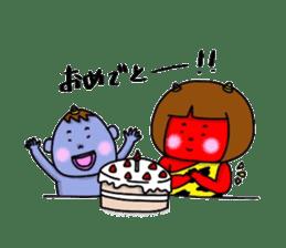 Oni Kids sticker #135179