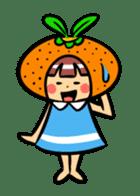 Orange Mi-chan sticker #135381
