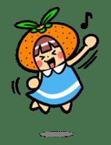 Orange Mi-chan sticker #135382