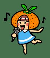Orange Mi-chan sticker #135385