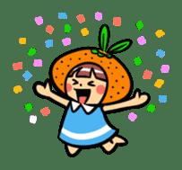 Orange Mi-chan sticker #135390