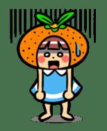 Orange Mi-chan sticker #135391