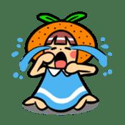 Orange Mi-chan sticker #135398