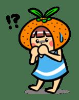 Orange Mi-chan sticker #135404