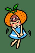 Orange Mi-chan sticker #135406