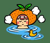 Orange Mi-chan sticker #135414
