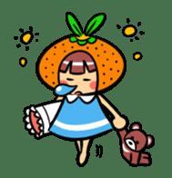 Orange Mi-chan sticker #135415
