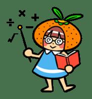 Orange Mi-chan sticker #135417