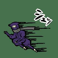 stamp of ninja sticker #135549