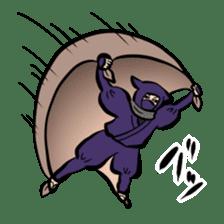 stamp of ninja sticker #135560