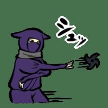 stamp of ninja sticker #135561