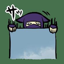 stamp of ninja sticker #135565