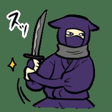 stamp of ninja sticker #135574