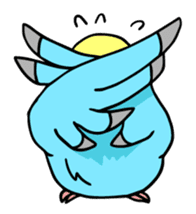 Coby and Jolly budgies sticker #135645