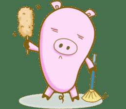 Pig House sticker #136381