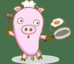 Pig House sticker #136386