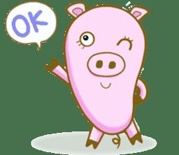 Pig House sticker #136389