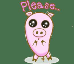 Pig House sticker #136390