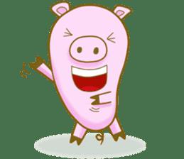 Pig House sticker #136397