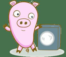 Pig House sticker #136402