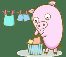 Pig House sticker #136403