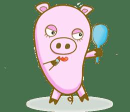 Pig House sticker #136406