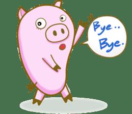 Pig House sticker #136409