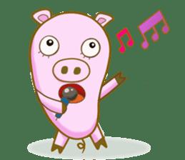 Pig House sticker #136415