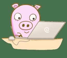 Pig House sticker #136417