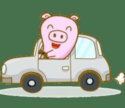 Pig House sticker #136418