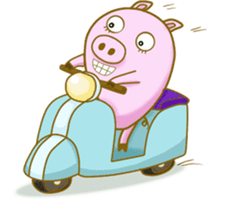 Pig House sticker #136419