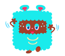 Colorful Monsters Mogu sticker #136621