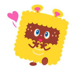 Colorful Monsters Mogu sticker #136622