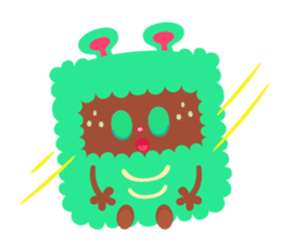 Colorful Monsters Mogu sticker #136623