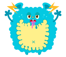 Colorful Monsters Mogu sticker #136625