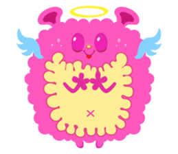 Colorful Monsters Mogu sticker #136626