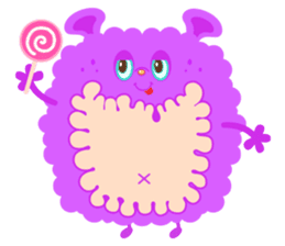 Colorful Monsters Mogu sticker #136627