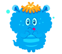 Colorful Monsters Mogu sticker #136628