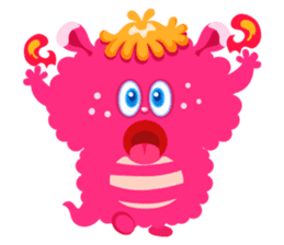 Colorful Monsters Mogu sticker #136629