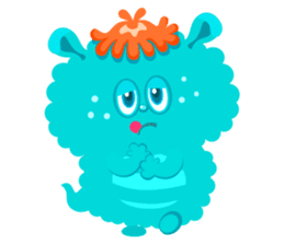 Colorful Monsters Mogu sticker #136630