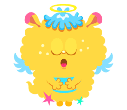 Colorful Monsters Mogu sticker #136631
