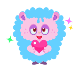 Colorful Monsters Mogu sticker #136632