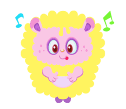 Colorful Monsters Mogu sticker #136633