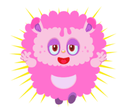 Colorful Monsters Mogu sticker #136634