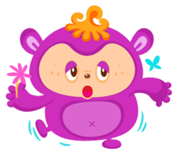Colorful Monsters Mogu sticker #136641