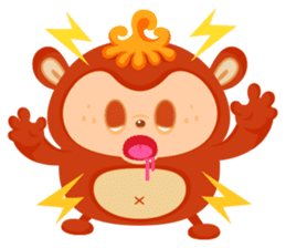 Colorful Monsters Mogu sticker #136642