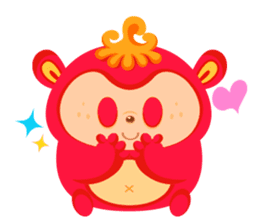 Colorful Monsters Mogu sticker #136643