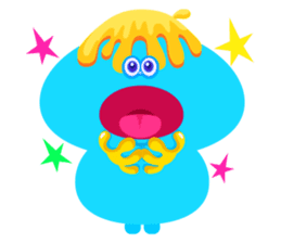 Colorful Monsters Mogu sticker #136655