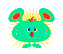 Colorful Monsters Mogu sticker #136656